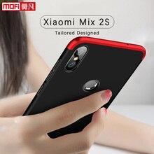 Xiaomi Mix 2s Case Cover Mofi Original 360 Armor Shockproof Black Hard Mi Mix 2s Fundas Xiaomi Mix2s Case For Xiaomi Mix 2s mi mix 2s 6 64 black