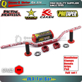 "1 1/8"" Fat Bar 28MM Handlebars+Grips+Bar Clamps+Bar Pad Motorcycle MX Motocross Pit Dirt Bike  KTM EXC CRF YZF250 KLX RMZ"