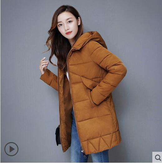 Von Jacke Daunenjacke Großhandel Dicke Echtpelzkragen Weibliche Parka Winter Kleidung Schnee Dame Mantel Winterjacke Damen Tragen 2018 Frauen IHEWD92