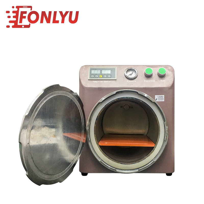 MIni Size High pressure Autoclave Machine For LCD Repair Using OCA Bubble Remover