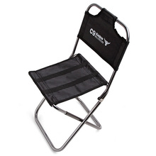 Портативный Открытый рыбалка кемпинг складной стул с Ткань Оксфорд и алюминиевый сплав для сада, путешествия, пляж стул спинки
