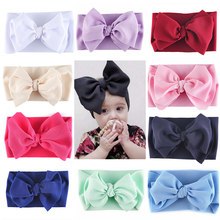 Big Bow Headwrap,Baby Headband,Top Knot headbands HEAD wraps,ขนาดใหญ่โบว์หัว wraps, (China)