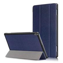 """Cubierta de la caja Para Lenovo TAB 4 10 TB-X304N X304L F 10.1 """"casos de Protección cubiertas Inteligentes Tableta Tab4 10 PU de Cuero Protector de La Manga"""