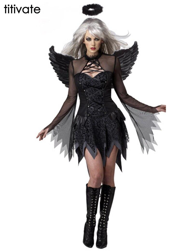 Эротический костюм черный ангел фото 426-946