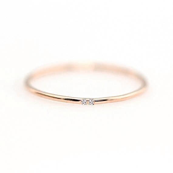 ZHOUYANG кольца для женщин с микро-вставками из кубического циркония тонкое кольцо на палец модное Ювелирное кольцо KCR101 - Цвет основного камня: RoseGold Color 106