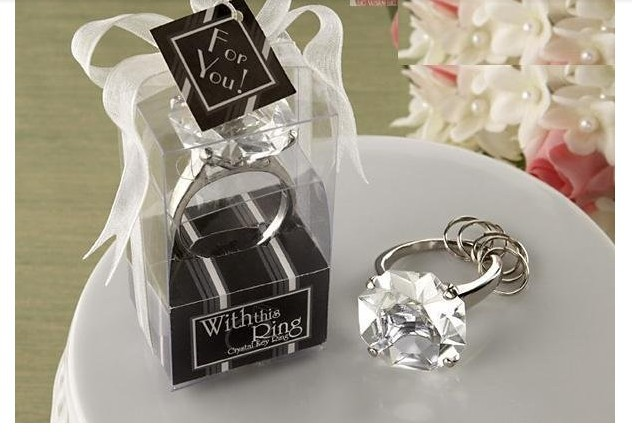 Wedding Gift Giveaway Ideas: Free Shipping 20PCS/lot Weddig Giveaway Gifts Keychain