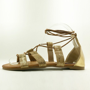 Image 3 - Plus Size 5 10  Fashion Gladiator Sandals Women Sexy Cutout Knee High Sandalias 2018 Summer Style Casual Flip Flops Shoes Woman