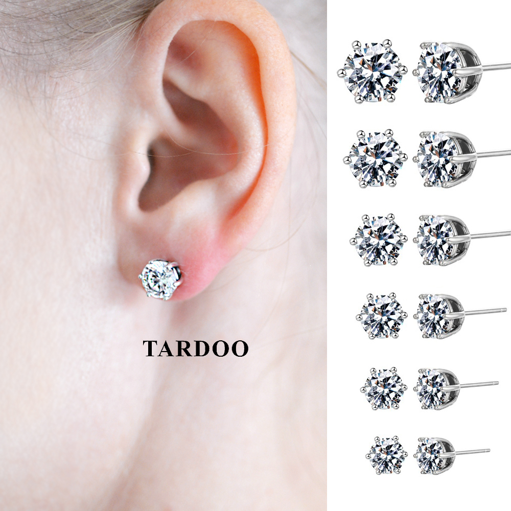 Tardoo Genuine Sterling Silver Costume Jewelry Earrings for Women Lovely Exquisite Earrings Silver 925 Jewelry товары для женщин lovely jewelry