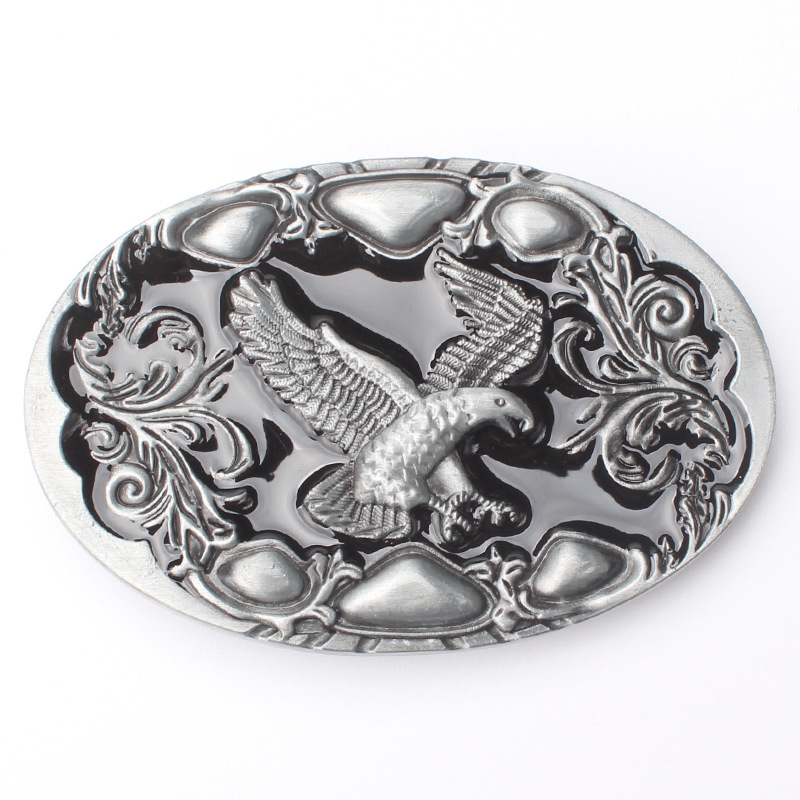Contracted The Eagle Belt Buckle