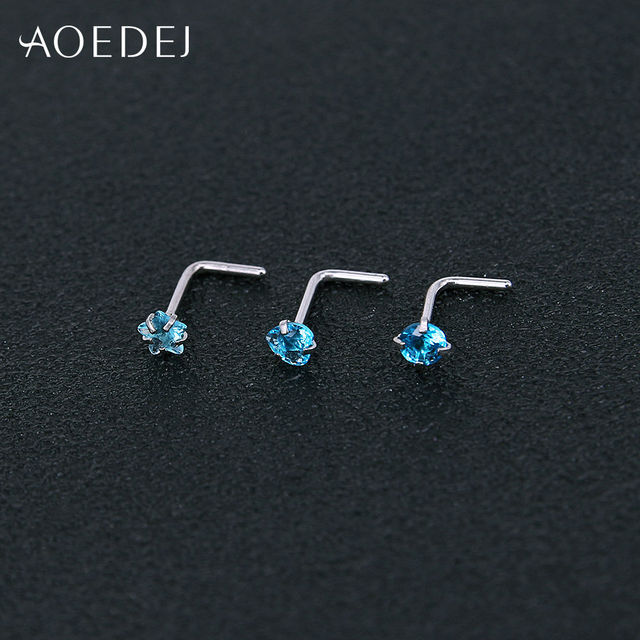 Серьги гвоздики aoedej из нержавеющей стали ювелирные украшения