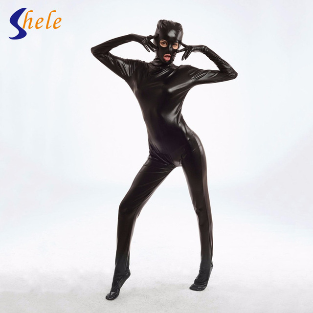 Exposed to mouth and eye Restraint Device Bondage Set costumes women underwear lady sexy lingerie Conjoined Suit Sex Toy