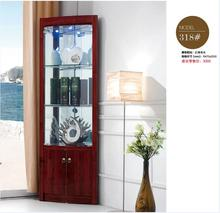 High Quality 318 Living Room Furniture Round Display Showcase Wine