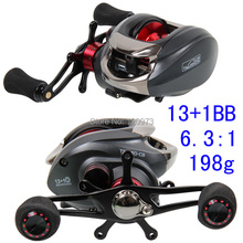 Tsurinoya MX1200 BaitCasting Fishing Reel 14BB 6.3:1  198g Bait Casting Lure Reels Left/Right Hand