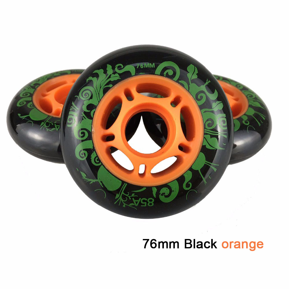 Image 5 - 80 76mm 85A Rollers for Inline Skates Slide Slalom Skates Wheels For Kids Adult Good as Powerslide Seba Patins Roller Wheel LZ25-in Scooter Parts & Accessories from Sports & Entertainment