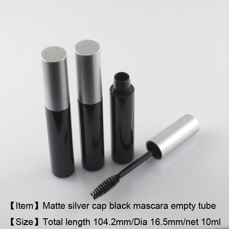 10ml mascara bottle black