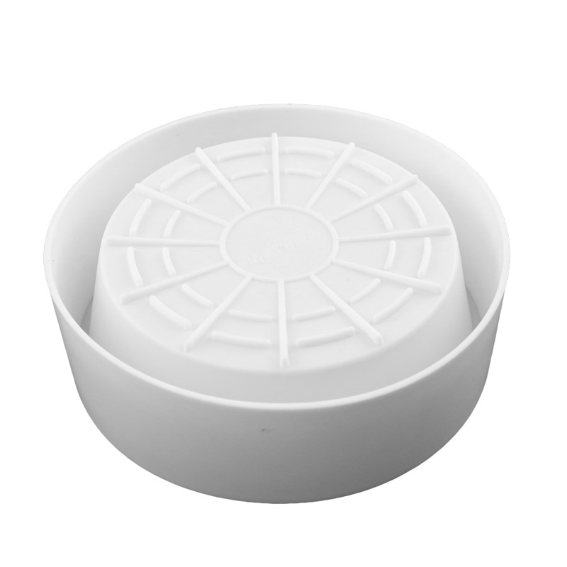 Silicone Round Cake Mold Bakeware Tools For Mousses Ice Cream Chiffon Angel Cakes Baking Pan Decorating Accessories in Cake Molds from Home Garden