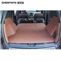 Chowtoto AA специальная магистральных коврики для Benz ML350 ml400 ML450 прочный Водонепроницаемый автомобиля ковры для MB ml 450 стайлинга автомобилей lagguge