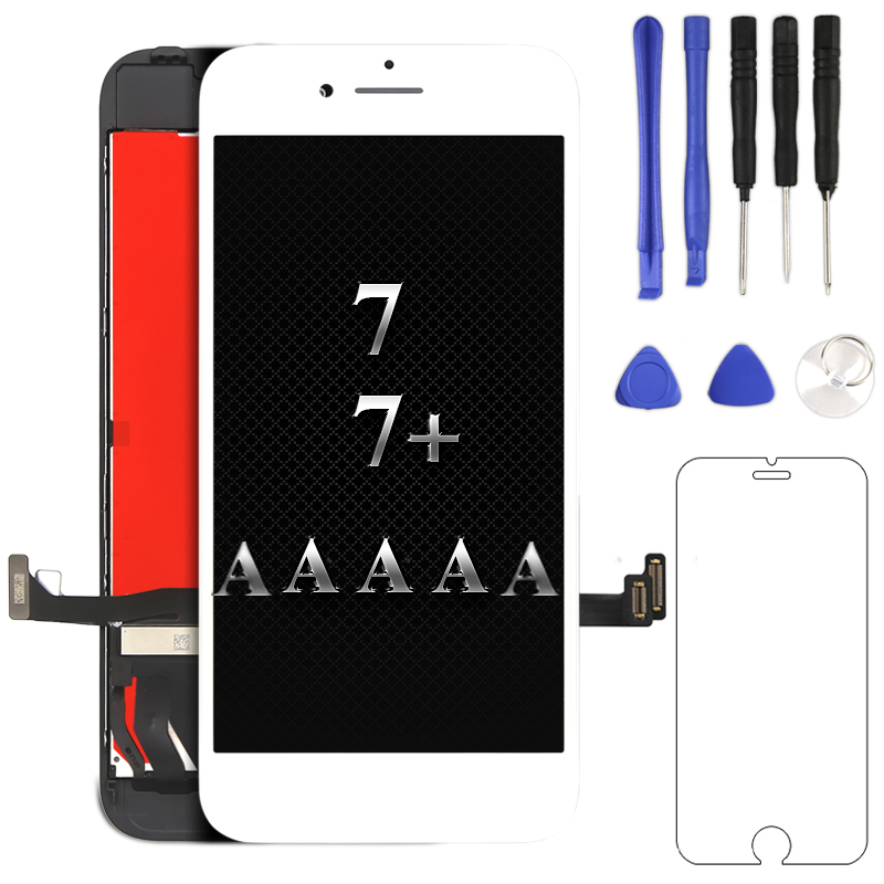 Best quality For iPhone 7 7 Plus LCD Display touch Screen Digitizer Assembly AAAAA mobile phone Replacement For iphone screen
