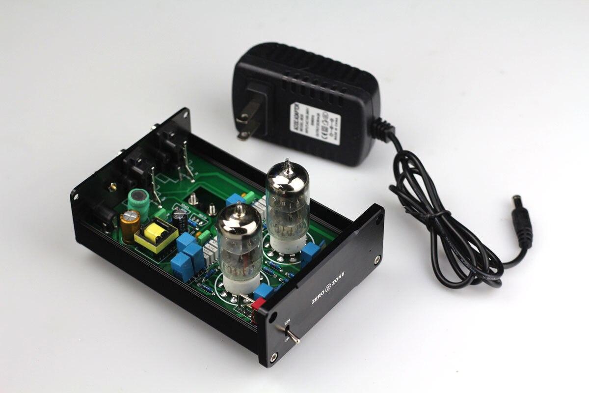 ZEROZONE Hifi MM RIAA Tube à vide platines Phono préampli + commutation alimentation L5-17