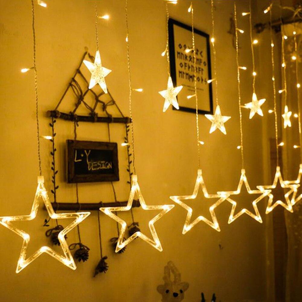2 5m led string lights curtain for living room christmas - String lights living room ...