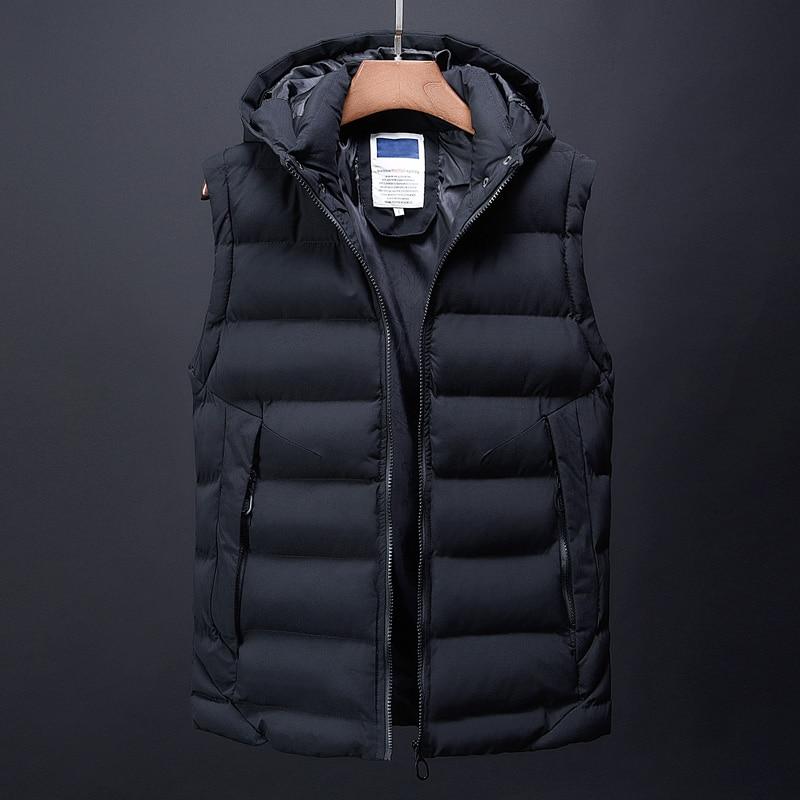 canada fashion vest men casual mens down jacket korean streetwear clothing overcoat dress male trench autumn winter coat for men (2)