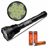 NKTECH NK 12T6 12x CREE XM L XML T6 LED 13800 Lumens 5 Modes Flashlight Torch