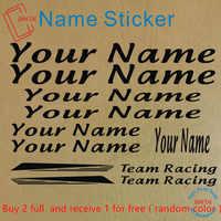 Bike Custom Name Bike Decal Cycling Frame ID Sticker Bicycle Custom Stickers Customized Bicycle Sticker Racing Team Stickers