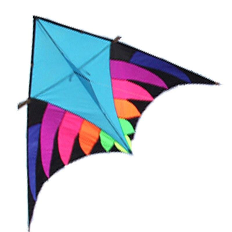 Nouvelle arrivée 3.6 M SPORTS de plein air FUN puissance DELTA cerf-volant avec poignée/chaîne facile à voler
