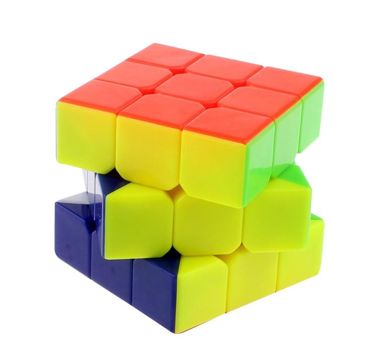 3x3x3 5.7cm Cube Puzzle Rychlost Maigco Cubo Antiestres Samolepící prst Výukové hračky pro děti Vánoční dárky
