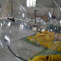 Water Bounce Inflatable Human Water Walking Ball , Walking On Water Bubble Ball