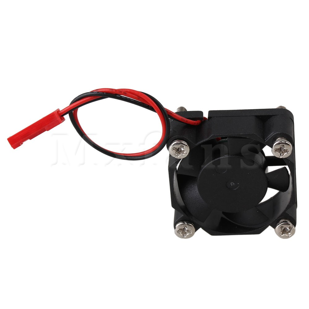 Mxfans 30mm x 30mm Black Brushless Motor Cooling Cooler Fan N10019 for RC Model Car cnc dc spindle motor 500w 24v 0 629nm air cooling er11 brushless for diy pcb drilling new 1 year warranty free technical support