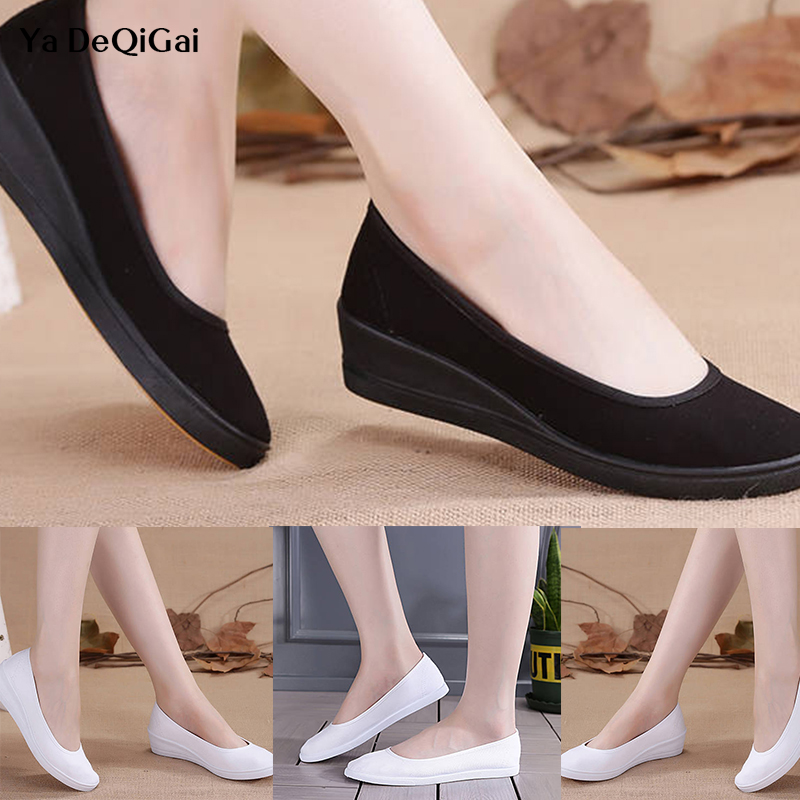 2019 New Pattern Spring Summer Small White Nurse Shoes Ventilation High Quality Non-slip Soft And Comfortable Women Anti-static