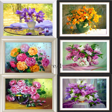 Diamond Mountain Specials Diamond painting Cross Stitch 6 flower Lavender Dreams Crystal Rhinestone mosaic Diamond embroidery