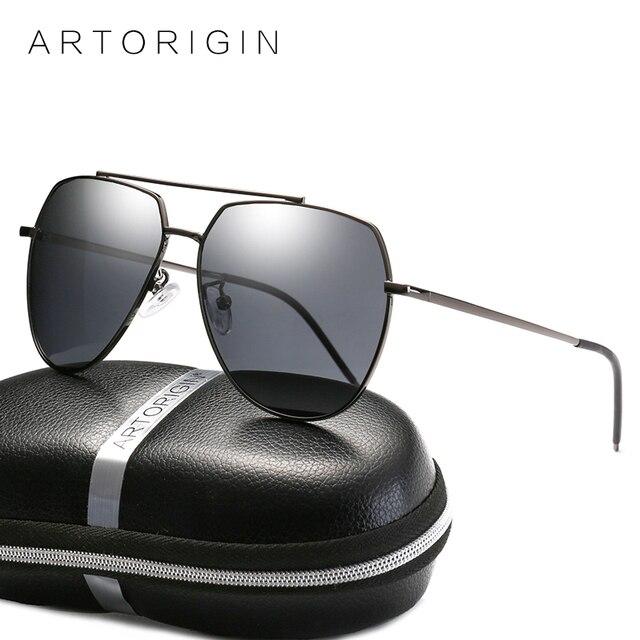 ARTORIGIN HD Óculos Polarizados Para As Mulheres Flat Top AT9021Box Aviação  Quadro Grande Óculos De Sol d8257fa37e
