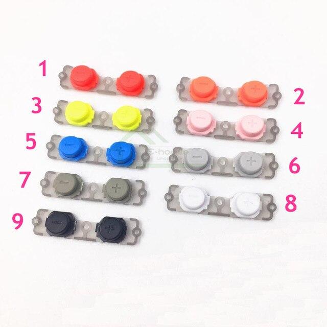 9 renk Isteğe Bağlı Ses Düğmesi Ses Ayarı Buttonn yedek için PS Vita 2000 için PSV2000 PSV 2000