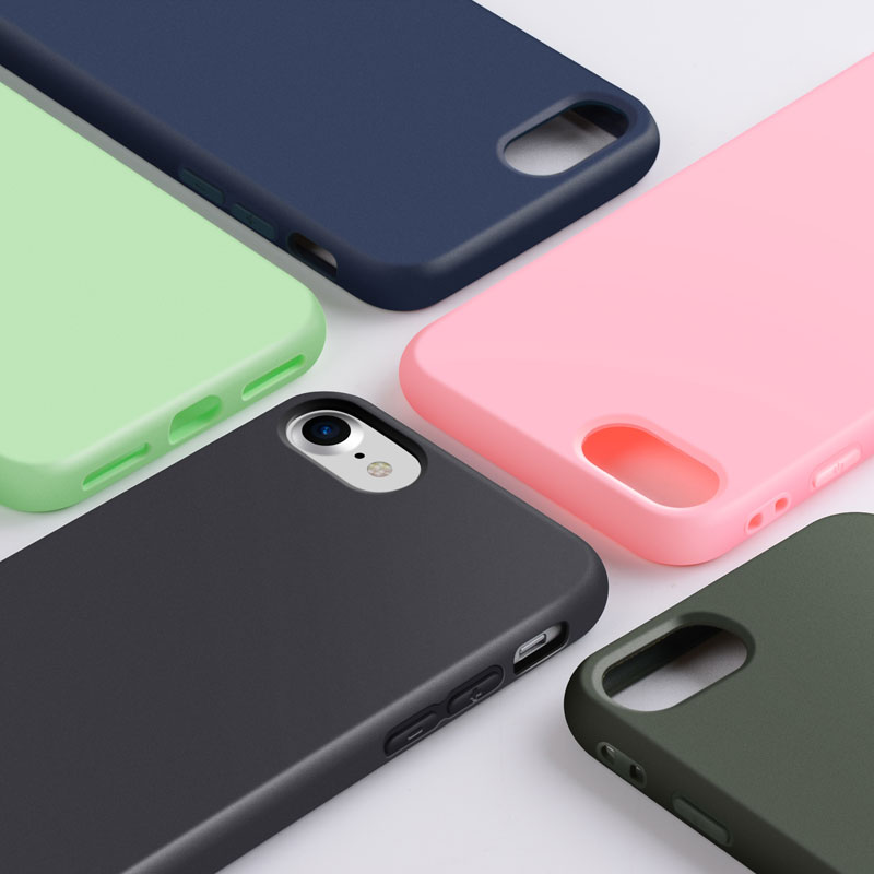 Funda de silicona para iPhone 8 Plus 7 Plus, material de TPU suave, - Accesorios y repuestos para celulares - foto 5