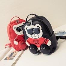 Весной и летом 2017 года пакета(ов) корейской моды милый медведь рюкзак Jogakuin ветер Сумка Рюкзак Путешествия женский личность