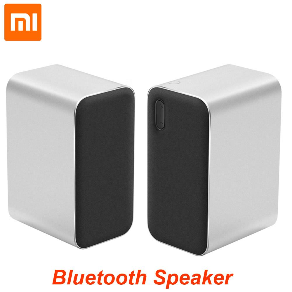 все цены на Xiaomi Bluetooth Computer Speaker 12W 2.4GHz Double Bass Basin Stereo Portable Aux DSP With Microphone LED Indicator онлайн