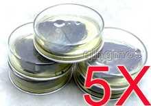 Оптовая продажа 5x банок с желаемой жемчужиной острий натуральным