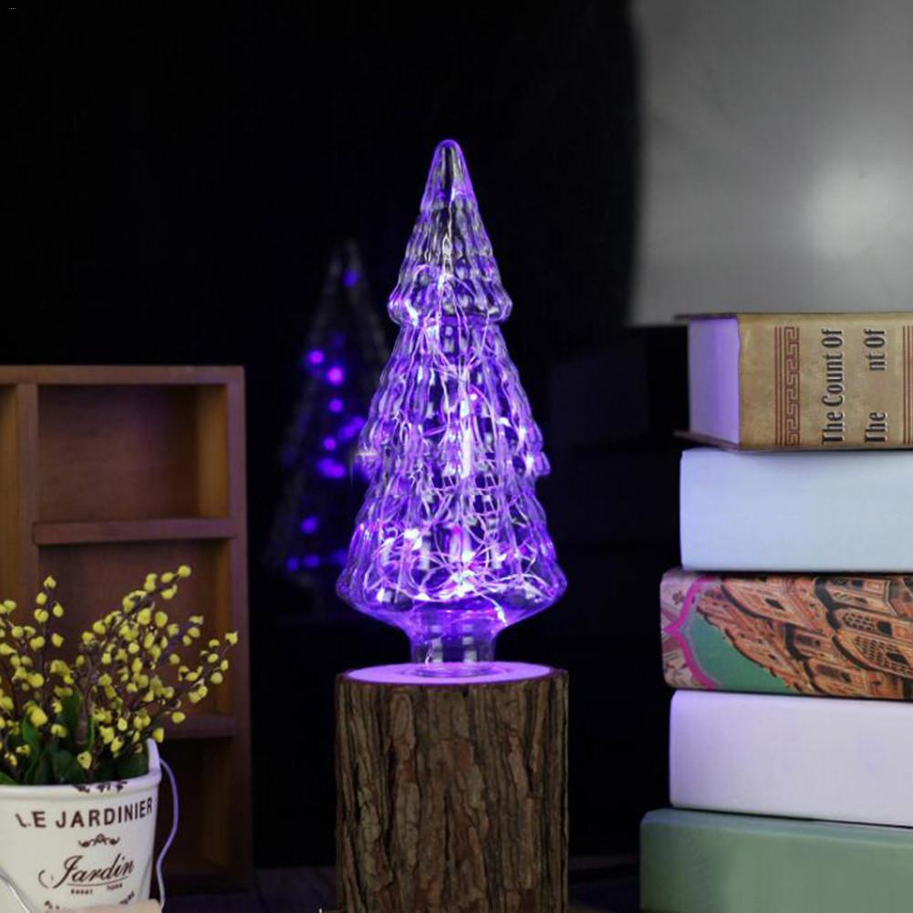 E27 Christmas Tree Blue Different Shaped Copper Wire Bulb ...