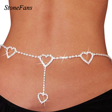 Women Mini Heart Belt Wedding Fashion Love Waist Chain