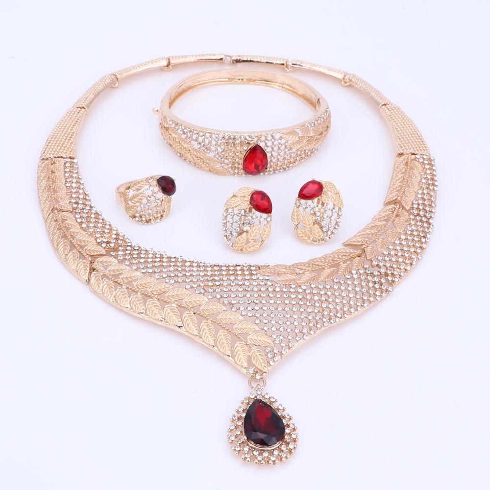 Դուբայի բյուրեղյա զարդերի հավաքածու - Նորաձև զարդեր - Լուսանկար 6