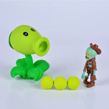 26 styles New Popular Game PVZ Plants vs Zombies Peashooter PVC Action Figure Model Toys 10CM Plants Vs Zombies Toys