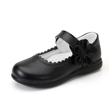 2019New Kids Children Shoes flower cowhide Princess Shoes Girls Wedding Student black Leather Shoes 3 4 5 6 7 8 9 10 11 12 13T 2019new kids children shoes flower cowhide princess shoes girls wedding student black leather shoes 3 4 5 6 7 8 9 10 11 12 13t
