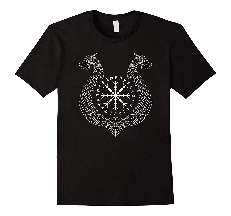 Vichingo Timone di Impressionante T-Shirt Maglietta di Vendita Calda Vestiti divertente Abbigliamento Casual Manica Corta T Shirt Mezza Età Top Tee