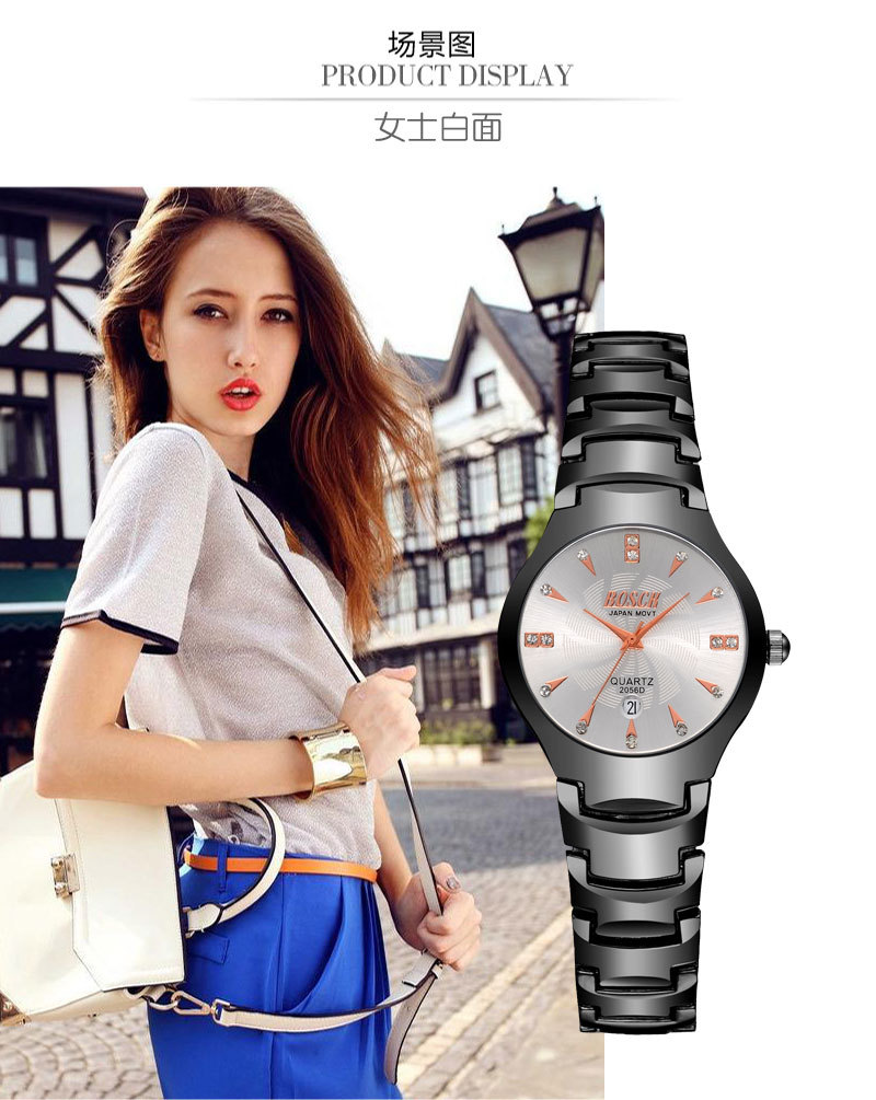 Ladies watch, luxury fashion business quartz watch, perpetual calendar watch brand, high-end leisure watches