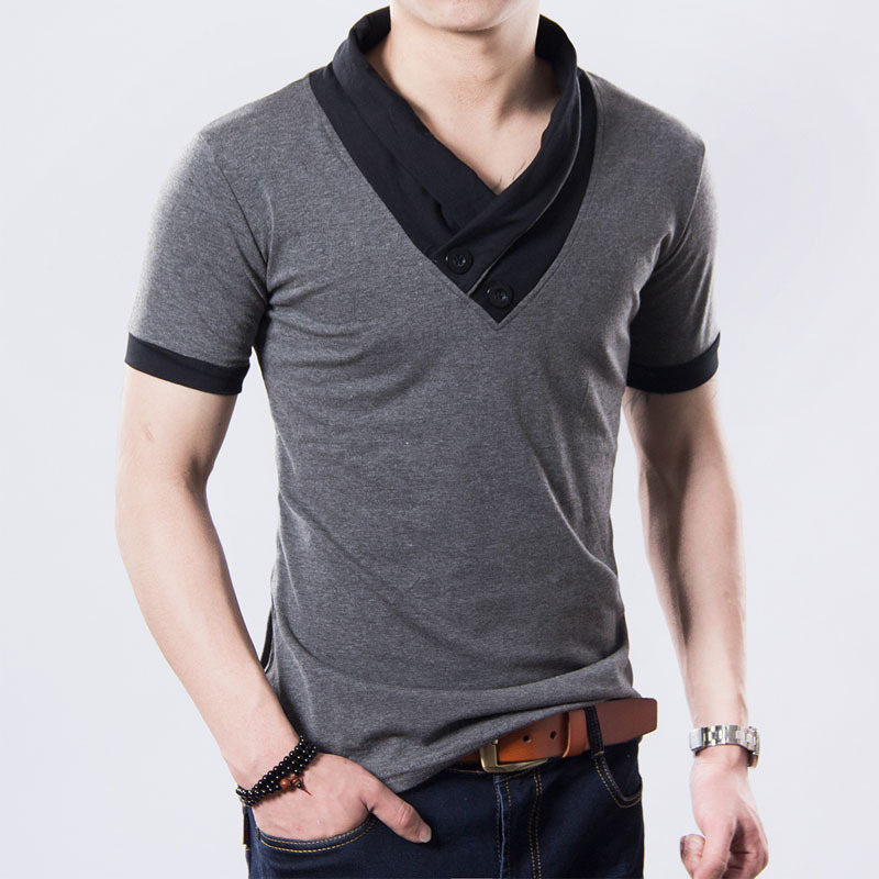 Free shipping 2017 New Mens summer leisure T-shirts