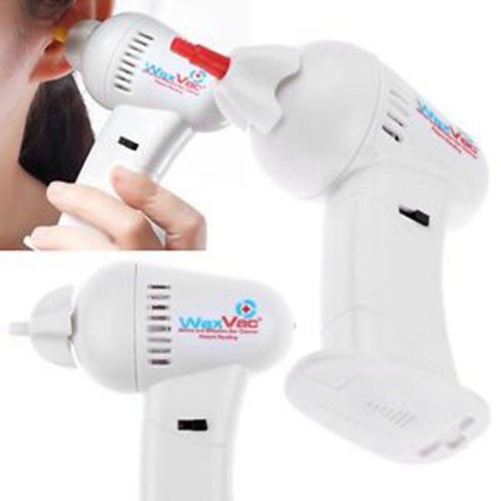 Portable Size Electric Ear Vacuum Cleaner Ear Wax Vac Removal Safety Body Health Care With Soft & Safety Head Ear Care Tool
