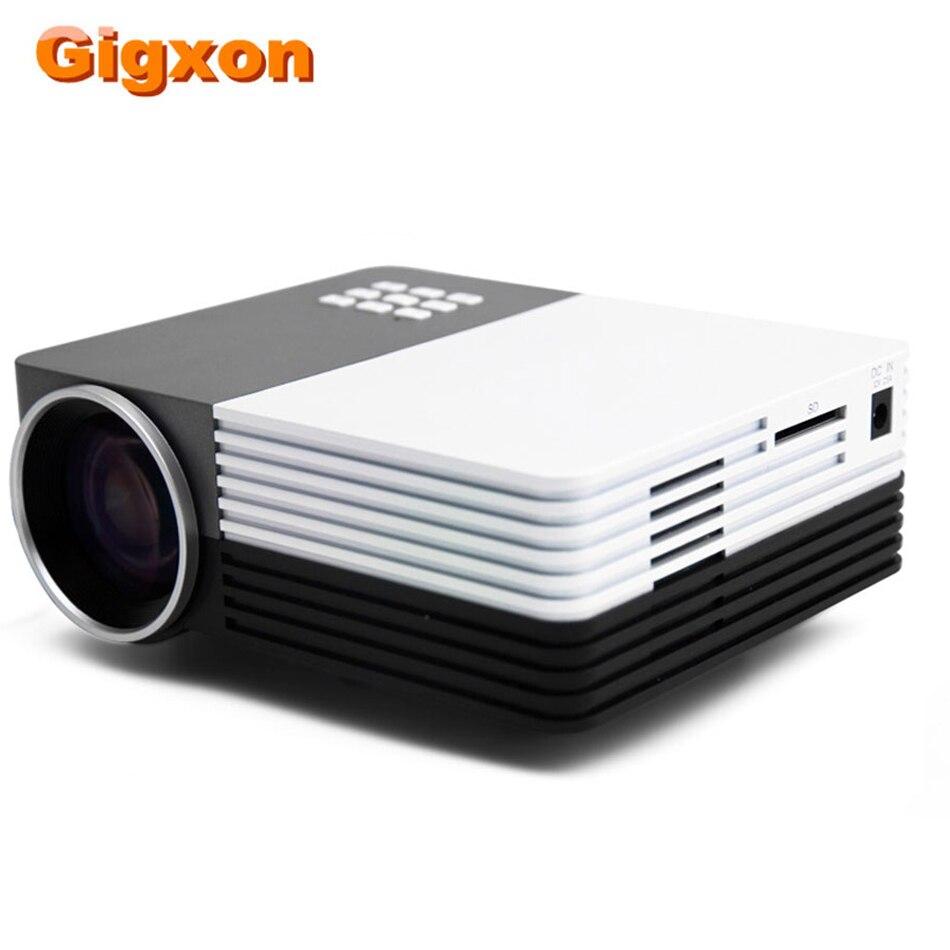 Gigxon TS-50 Mini projecteur HDMI Portable LCD projecteur Wifi Andorid Max 1080 P pour Home Cinema jeu TV BOX ordinateur Portable