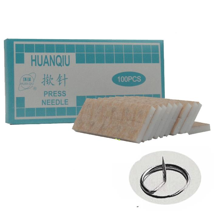Hot sale Sterile huanqiu ear acupuncture needle press ...